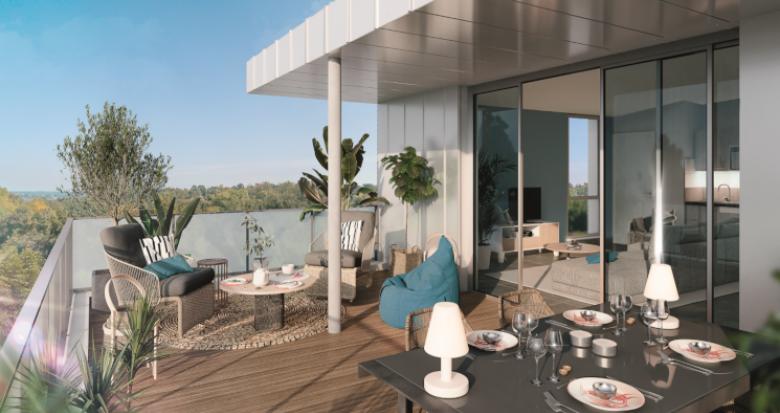 Achat / Vente immobilier neuf Toulouse secteur Pouvourville proche métro B (31000) - Réf. 5260