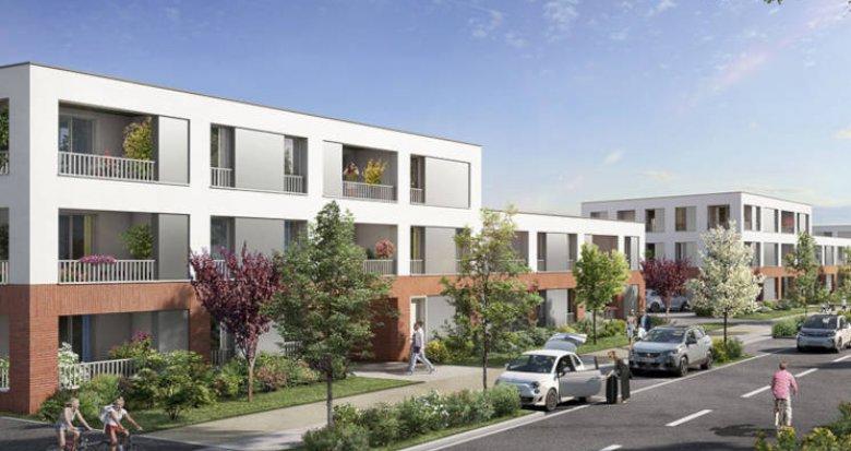 Achat / Vente immobilier neuf Toulouse secteur prisé Saint-Simon (31000) - Réf. 3193