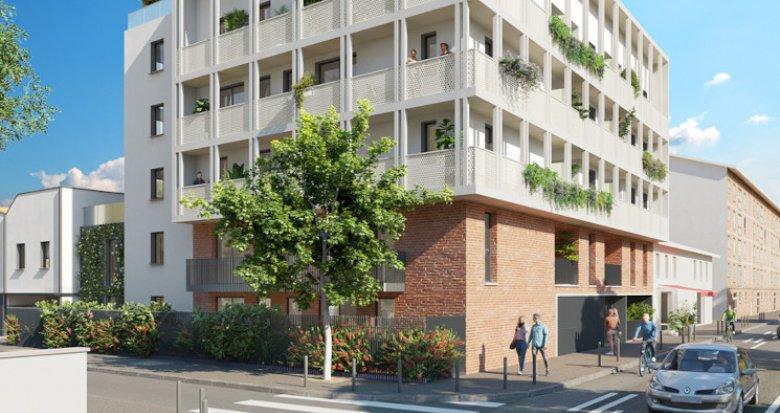Achat / Vente immobilier neuf Toulouse secteur Saint-Cyprien (31000) - Réf. 5588