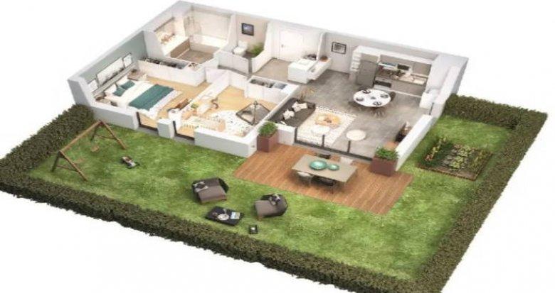 Achat / Vente immobilier neuf Toulouse secteur Saint Simon (31000) - Réf. 5139