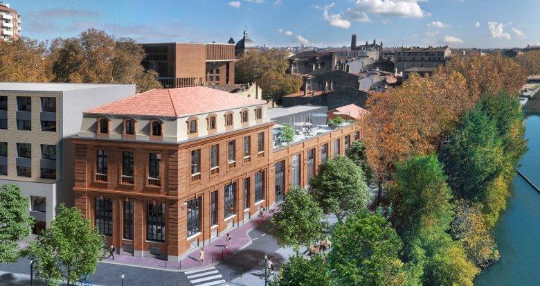 Achat / Vente immobilier neuf Toulouse sur les berges de la Garonne (31000) - Réf. 6076