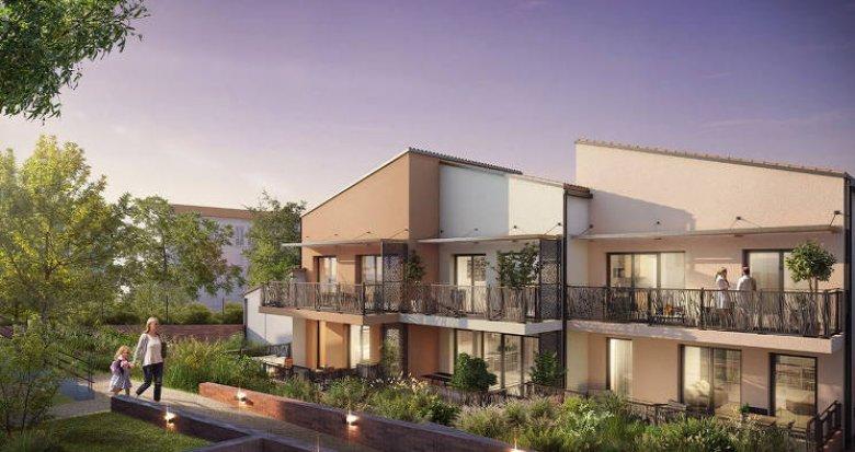 Achat / Vente immobilier neuf Toulouse sur les hauteurs de la ville (31000) - Réf. 5365