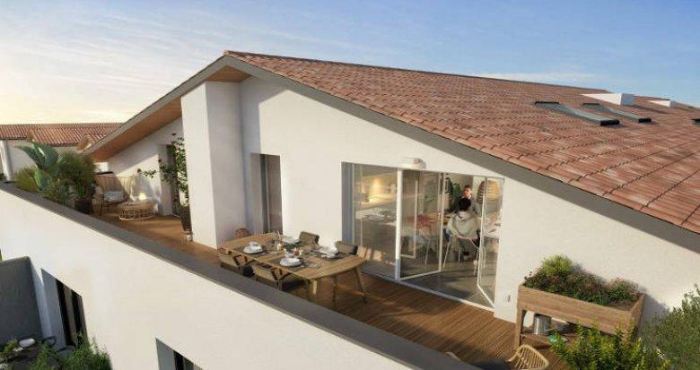Achat / Vente immobilier neuf Tournefeuille à quelques pas de l'hypercentre (31170) - Réf. 5415