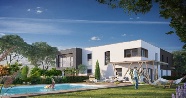 Achat / Vente immobilier neuf Vigoulet-Auzil proche mairie (31320) - Réf. 4121
