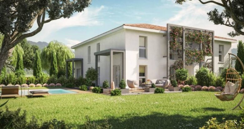 Achat / Vente immobilier neuf Vigoulet-Auzil secteur calme cadre naturel (31320) - Réf. 4870