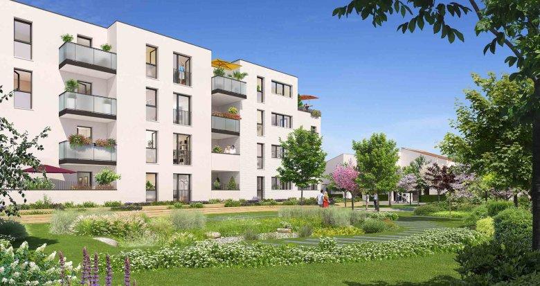 Achat / Vente immobilier neuf Villeneuve-Tolosane, proche canal de Saint-Martory (31270) - Réf. 3110