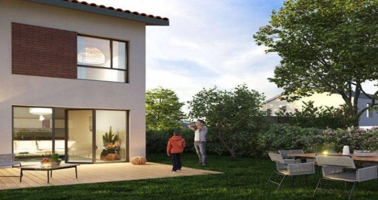 Achat / Vente immobilier neuf Villeneuve-Tolosane proche Parc du Bois-Vieux (31270) - Réf. 4406